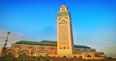Hassan II mosque, one of the top things to do in casablanca is to visit here