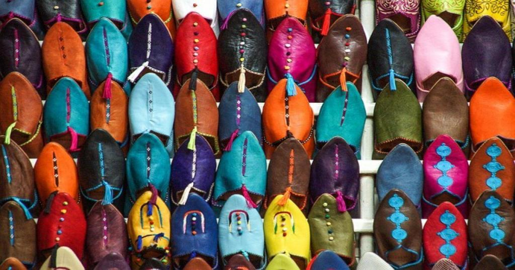 Leather, what to buy in Morocco
