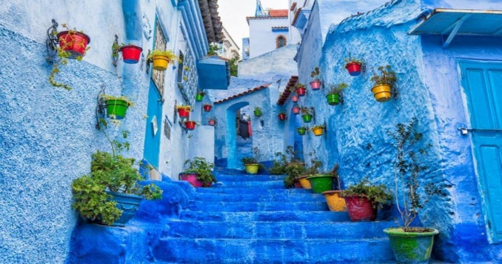 The blue pearl of Morocco, Chaouen